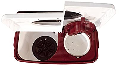 Kelvinator KS7052DM-FAU Semi-automatic Top-loading Washing Machine (7 Kg, Maroon)