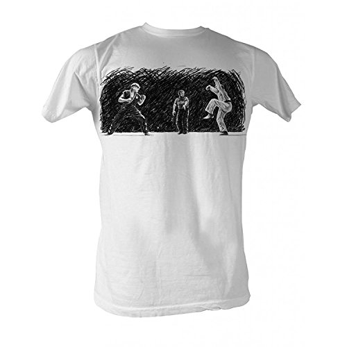 Karate Kid Crane Adult T-Shirt Tee(Large)