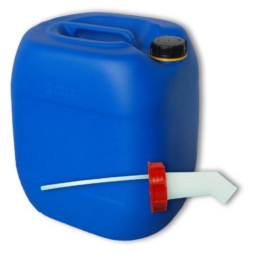 30 liter kanister blau schnellausgieer din 61. Black Bedroom Furniture Sets. Home Design Ideas