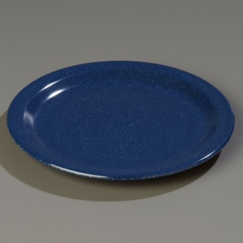 "Dallas-Ware??Dinner Plate Caf??Blue 9"" by Carlisle"