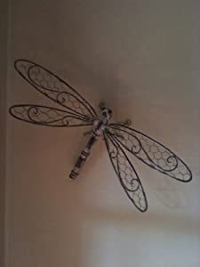 Vintage Style Dragonfly Wall Art For The Garden Or Conservatory