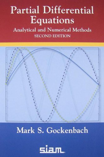 Partial Differential Equations: Analytical and Numerical...