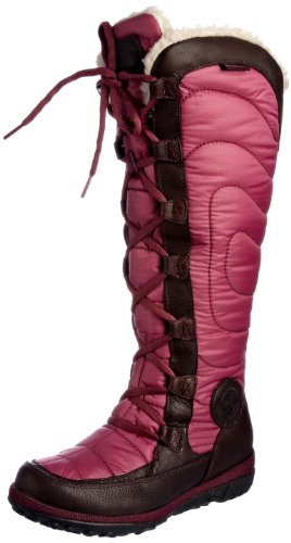 Timberland Women's Crystal Mountain Tall Lace Boot Dark Brown Rain And Snow Boots 17681 5 UK
