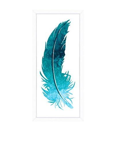 Art Source Blue Feather Panel I, Multi