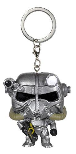 Funko - Porte Clé Fallout - Power Armor Pocket Pop 4cm - 0849803086879