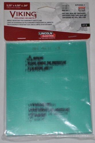 Lincoln Kp2898-1 Viking 750S, 850S, 3350 Outside Cover Lens Pkg = 5