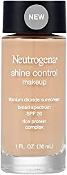 Neutrogena Shine Control Liquid Makeup SPF-20, Buff 30, 30ml