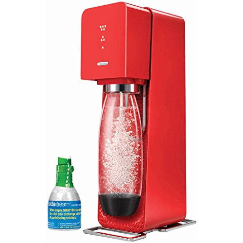 SodaStream Source Home Soda Maker Starter Kit, Red (Hand Carbonator compare prices)