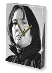 ALAN RICKMAN - Canvas Clock (A4 - Signed by the Artist) #js002