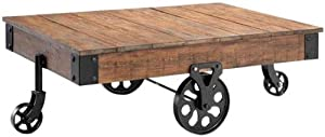 "Industrial Maison Coffee Table, 31""x47"", DISTRESSED"