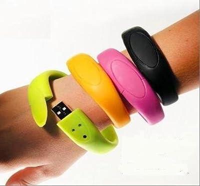 Gazboat Wristband Usb Flash Pen Drive Memory Stick 2gb by GAZBOAT