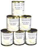 1 Half-Case/6 Cans of Future Essentials Canned Sailor Pilot Bread