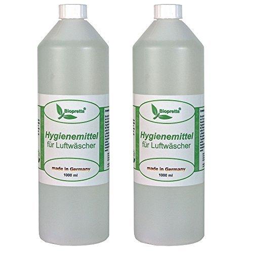 2 Liter Hygienemittel für Luftwäscher Luftreiniger Luftbefeuchter Raumklimaverbesserer Beurer DeLonghi Miele Aclimat Biffinet Melitta