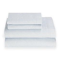 Tommy Hilfiger Ithaca Stripe Sheet Set Queen