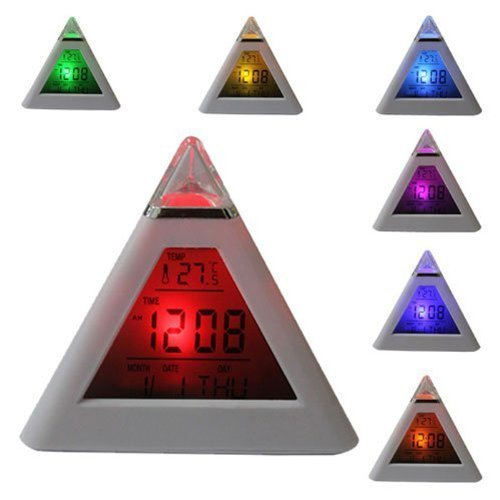 bz-simple-digital-alarm-clock-7-led-color-change-pyramid-with-temperature-alarm-and-sleeping-functio