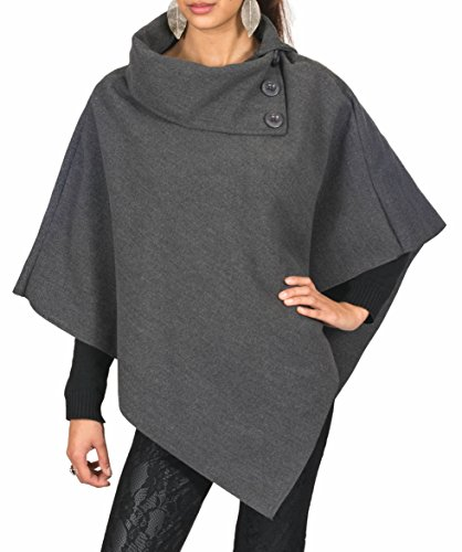 AO-Poncho--Col-montant-Taille-S-M-L
