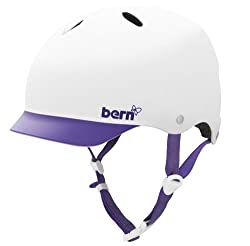 BERN Lenox Summer EPS Helmet with Visor from Bern