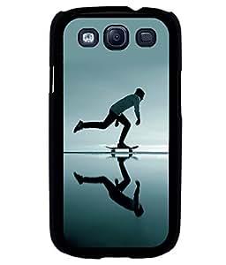 printtech Skateboard Man Mirror Back Case Cover for Samsung Galaxy S3::Samsung Galaxy S3 i9300