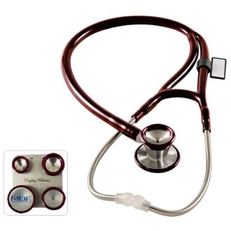 Cheap MDF® ProCardialTM C3 – Critical Cardiac Care Edition Stethoscope-Napa-Burgundy (B006LXLU6I)