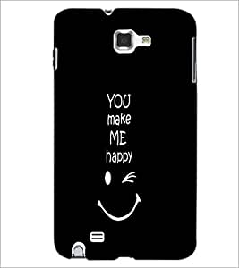 PrintDhaba Quote D-2628 Back Case Cover for SAMSUNG GALAXY NOTE 1 (Multi-Coloured)