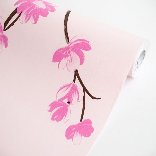 Sakura - Vinyl Self-Adhesive Wallpaper Prepasted Wall Stickers Wall Decor (Roll) front-80209