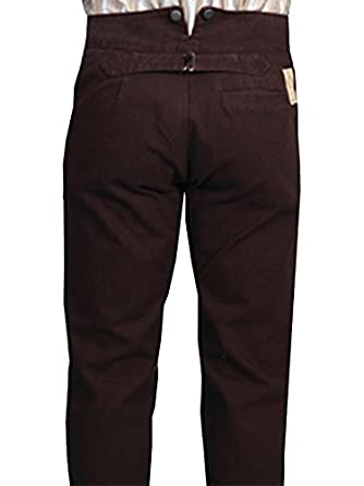 Wahmaker By Scully Mens Wahmaker Canvas Pants  AT vintagedancer.com