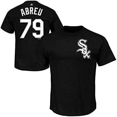 Jose Abreu Chicago White Sox #79 MLB Youth Player Name & Number T-shirt Black