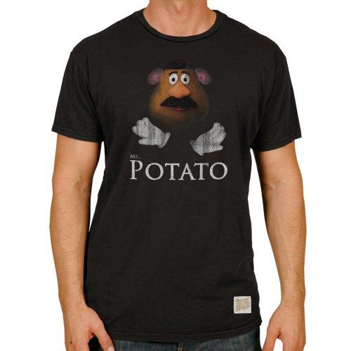 Mr Potato Head Men'S Retro Brand T-Shirt-Small front-672197