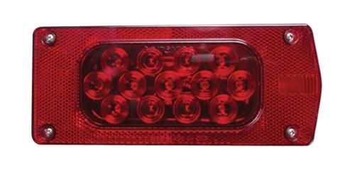 "Optronics Tll36Rk Aero Pro Led Trailer Light Kit With 80"" Wide Side Marker Light"