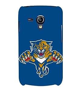 EPICCASE tiger case Mobile Back Case Cover For Samsung Galaxy S3 Mini (Designer Case)