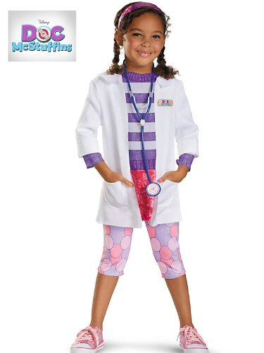 Disguise Inc - Deluxe Doc McStuffins Toddler/Child Costume