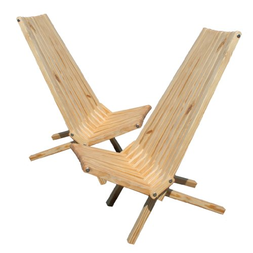 Top glodea x45p1tos2 lounge chair teak oil set of 2 for Best deals on patio furniture sets