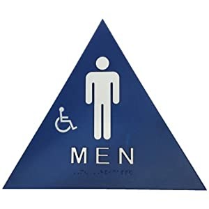 Don Jo Chs 1 Triangle Title 24 Sign Legend Men With Graphic Blue Pack Of 10 Industrial