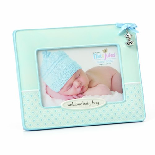 Nat and Jules Welcome Frame, Baby Boy