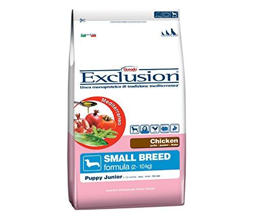 Exclusion Cucciolo Taglia Piccola, Pollo 800 Gr