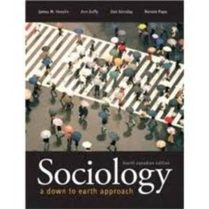 SOCIOLOGY (CANADIAN ED)