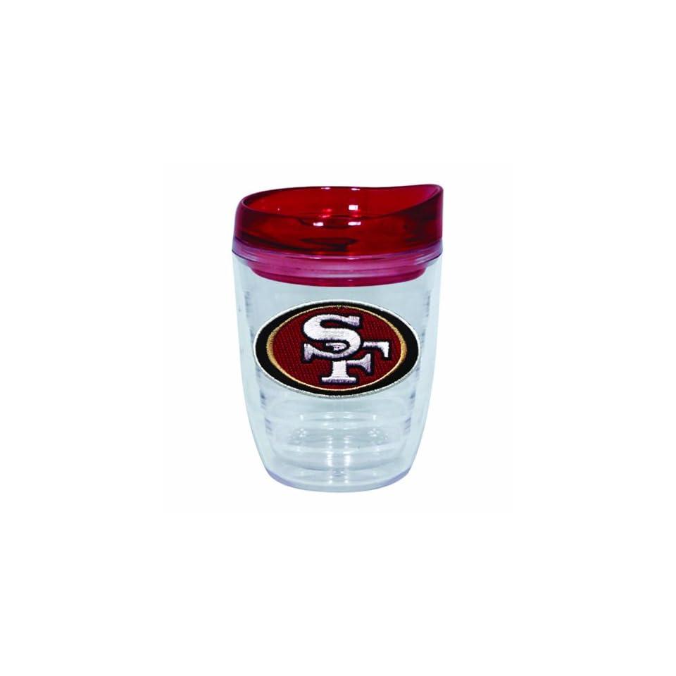 NFL San Francisco 49ers 12 Ounce Slimline Tumbler with Color Lid