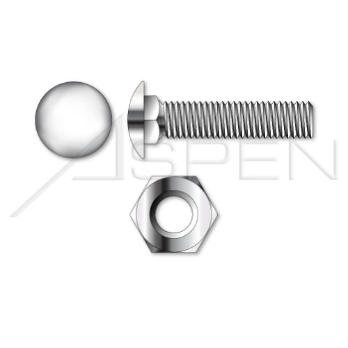 Stainless Steel Carriage Bolt 1//PC 5//8-11 X 3-1//2