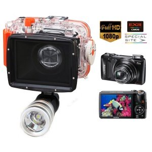 Bundle Underwater Housing + Digital Camera By