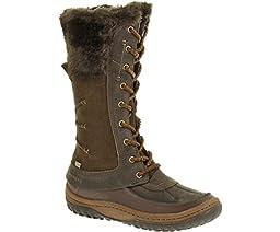 Merrell Women\'s Decora Prelude Waterproof Winter Boot,Mocha,7.5 M US