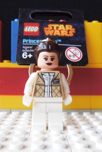 LEGO Star Wars Princess Leia Minifigure Key Chain 850997 - 1