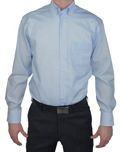Marvelis -  Camicia classiche  - Basic - Con bottoni  - Maniche lunghe  - Uomo blu chiaro 46