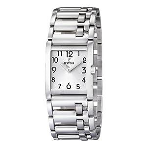 Festina Damen-Armbanduhr Analog Edelstahl F16550/1
