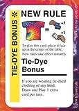Fluxx Promo Game Card (NEW RULE) TableTop Day 2014: Tie-Dye Bonus