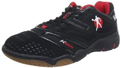 Kempa Stride 200843801, Herren Sportschuhe - Handball, Schwarz (schwarz/rot), EU 36 (UK 3.5) (US 4)