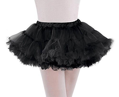 petticoat full child m/l blck