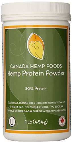 Canada Hemp Foods, Natural Protein Powder, 50% Protein, 16 Ounce