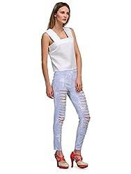 Yolo Designs Women's Plain Top (SS YOLO 5002_White_Large)