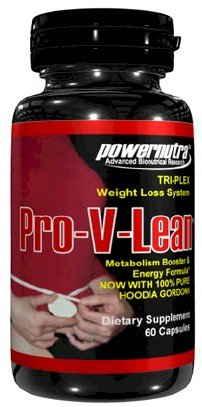 Pro V Lean TRI PLEX Weight Loss System with CLA and Hoodia Gordonii Appetite Suppressant Weight Loss Diet Pills 60 Capsules
