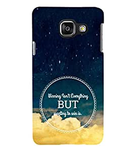 ifasho Designer Phone Back Case Cover Samsung Galaxy A3 (6) 2016 :: Samsung Galaxy A3 2016 Duos :: Samsung Galaxy A3 2016 A310F A310M A310Y :: Samsung Galaxy A3 A310 2016 Edition ( I Love Bangalore Karnataka Blue Wood Look )